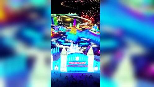 冰雪大世界1 #哈尔滨 #旅游 #冰雪 #跨年