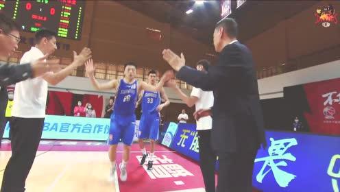 肯帝亚vs吉林集锦 小将郑祺龙表现抢眼李禄曈获职业生涯首分