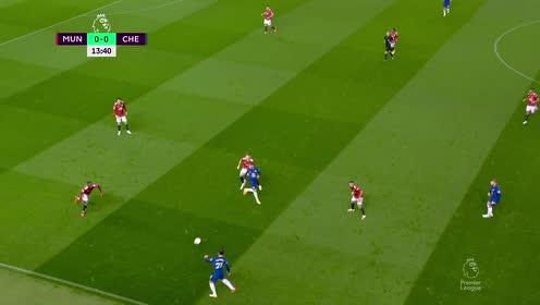 【回放】20/21英超第6轮:曼联vs切尔西 上半场