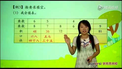 新版二年级数学上册六 表内乘法(二)