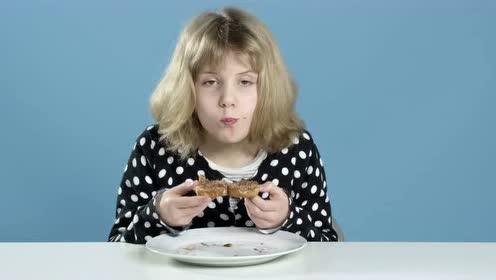 爆笑视频--美国小孩品尝世界各地的早餐