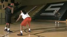 篮球教学之双重试探步过人技法