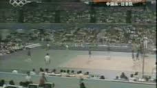 84年女排奥运半决赛,中国女排爆扫日本,第三局郎平都不用上了