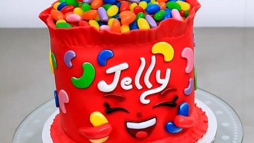 小朋友的最爱shopkins蛋糕来了,还有可爱的糖果呦