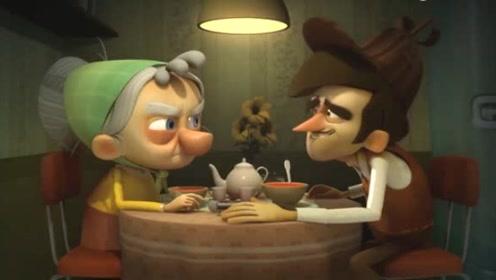 搞笑动画短片:低能侦探