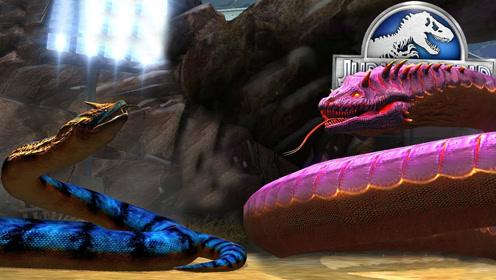 侏罗纪世界:泰坦奥罗波诺蛇VS金冠泰坦蛟龙