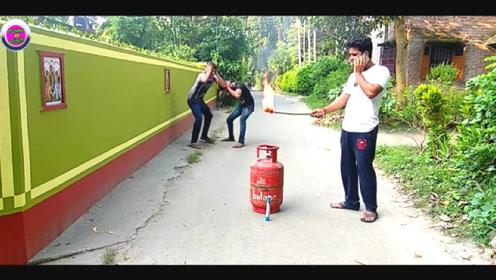 国外乡村搞笑视频,爆笑恶搞!