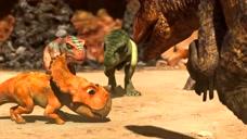 恐龙王:小疙瘩的小母龙被抓走了,小疙瘩无能为力