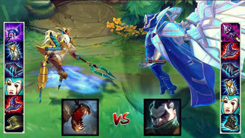 新版稻草人 vs 六神装乌鸦,后期谁的吸血能力更