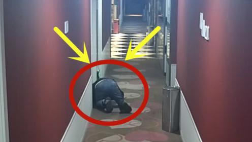 已婚男频现酒店不消费,走廊隔门贴耳偷听录音:以满足心理需求!