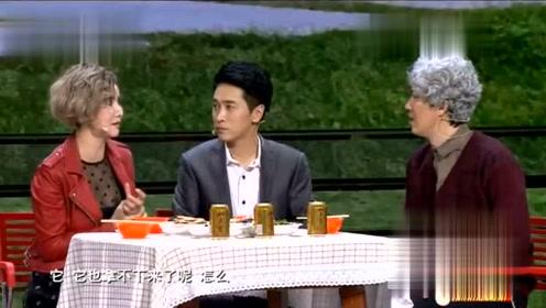王宁 艾伦小品《女大当嫁》找个女朋友应付父亲