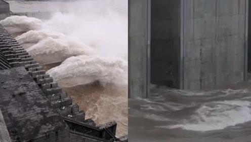 長江第2號洪水平穩通過三峽大壩:大壩達到建庫最高水位163.11米