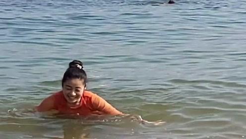 海边游玩实拍