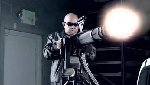 经典劲爆动作片:狙击狂人,毁灭军队,灭杀黑