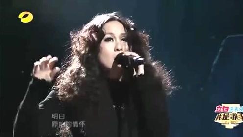 中国第一摇滚罗琦,一首《我期待》震撼全场,