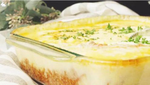 美食烹饪:法式芝士肉酱焗土豆泥
