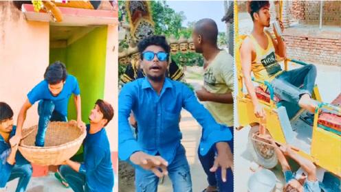 印度人恶搞爆笑视频 ,超级搞笑,笑到肚子疼哈哈哈