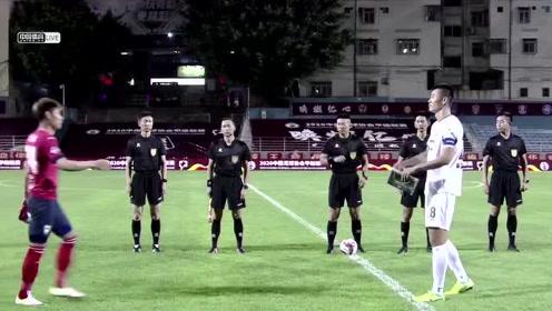 2020赛季中甲第三轮陕西长安竞技1:1浙江绿城全场比赛录像