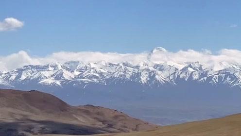 《天堂西藏》101、在5000米上开车,感觉像开飞机