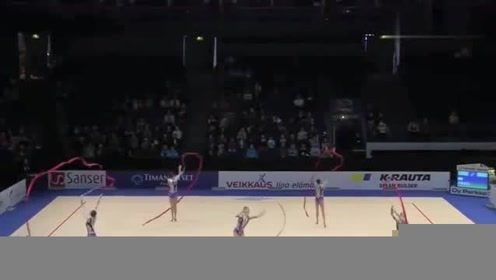 艺术体操,史上极具创意的带操