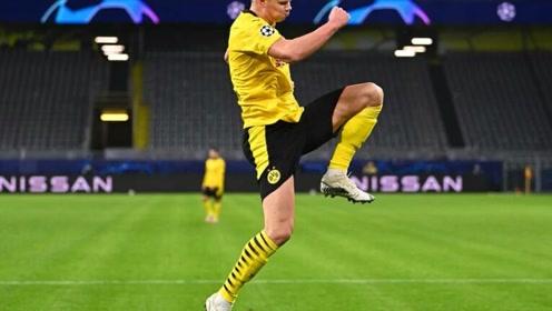 多特欧冠2-0泽尼特,桑乔点射哈兰德补时破门,再创欧冠纪录!