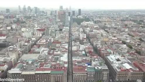 航拍墨西哥城