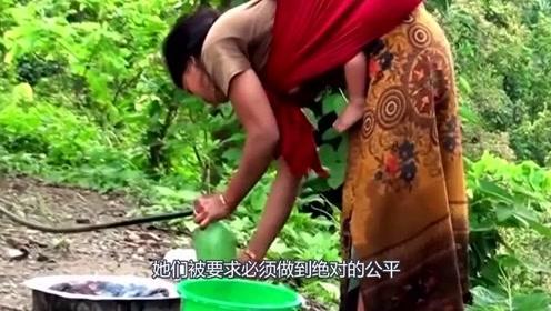 """尼泊尔""""一妻多夫""""村庄,女人可以嫁给多个男人,孩子生出来归谁?"""