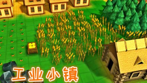 开山造田!让村民吃上新鲜的有机蔬菜、工业小镇