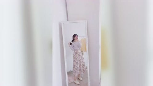 法式复古碎花裙,超级温柔显气质