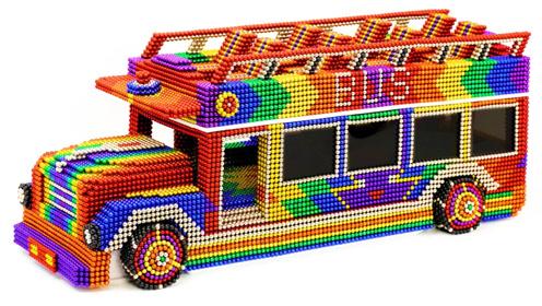 天天解压DIY双层巴士带你去旅游