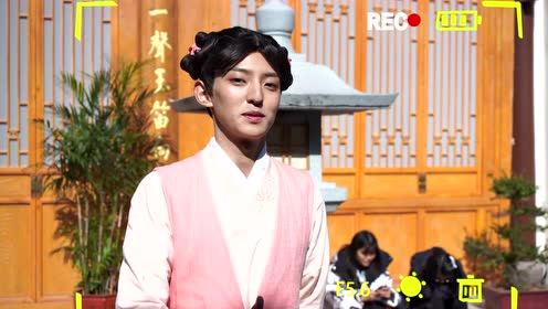 BTS: Zhao Tianyu in lady's dress | A Love So Romantic