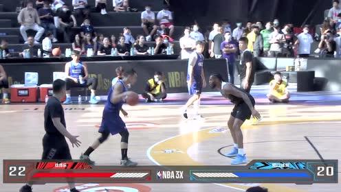 【回放】N*A3X三人篮球上海总决赛男子组8进4第二