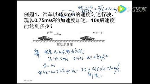 高中物理必修1第二章 匀变速直线运动的研究 2 匀变速直线运动的速度与时间的关系