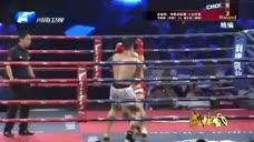面对韩国自由搏击冠军  中国李宴坤勇敢互搏  最终获胜