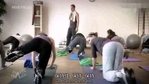 练瑜伽发生这种事,瑜伽教练都蒙圈了