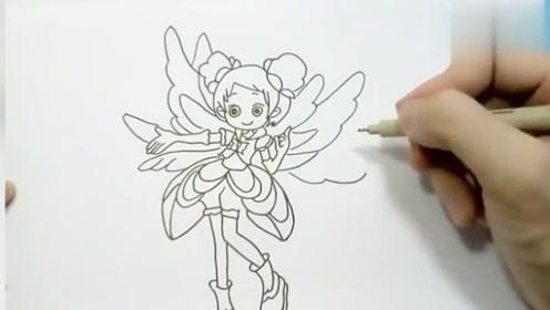 小花仙简笔画