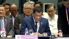 东盟峰会一天缺席6场会 菲总统杜特尔特:我打个