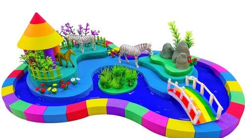 创意手工制作:做彩色ag游戏直营网|平台园