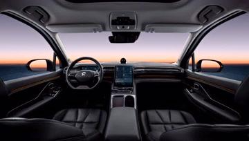 蔚来汽车系统2.0 - 大轮毂汽车视频