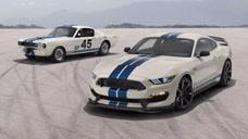 福特Mustang Shelby GT350特别版官图发布