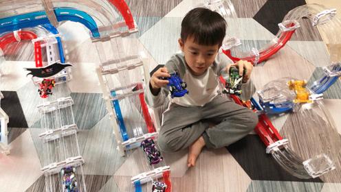 零速争霸四驱车玩具 双轨赛道极速赛车亲子游戏
