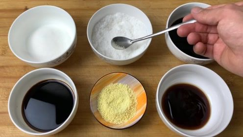 大厨讲解盐、糖、醋、酱油在烹饪中的微妙关系