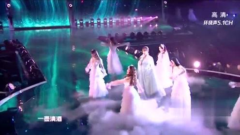 杨紫走心翻唱《不染》 这唱功是我没想到的!