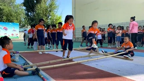 达拉特旗第六幼儿园体育活动