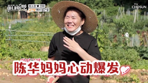 陈华妈妈心动爆发电视剧里出来的韩国男朋友,咸素媛:爸爸看到了怎么办