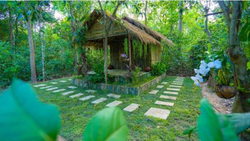 丛林里建造你梦想中的竹林别墅