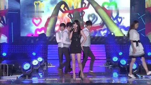 IU《好日子》音乐银行表演舞台现场版120831