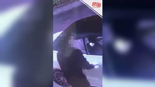 """50秒车没了!偷车贼用""""黑科技""""轻松盗走豪车 原理竟然是这样"""