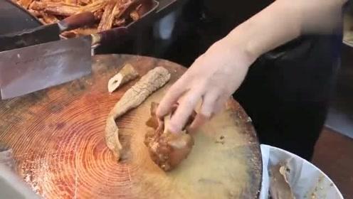 香港美食:食卤味必去香港这家老字号潮州卤水店,卤猪大肠25块一条!