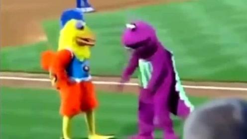吉祥物之间的战斗,看完你笑了嘛?